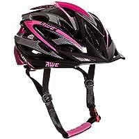 AWE Aerolite Pink Lady - Casco de ciclismo para mujer, 56-58, color rosa y blanco