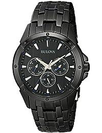 (CERTIFIED REFURBISHED) Bulova Classic Analog Black Dial Men's Watch - 98C121