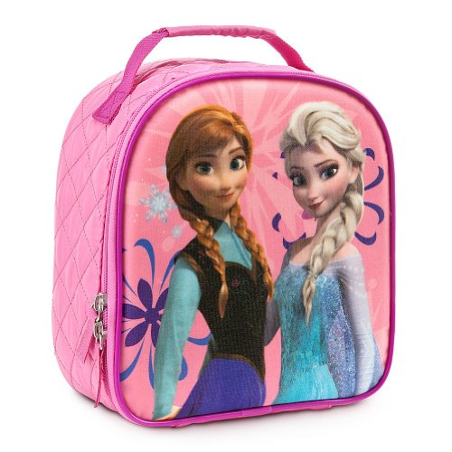 Disney-Store-Frozen-Princess-Elsa-and-Anna-Lunch-ToteBoxBag