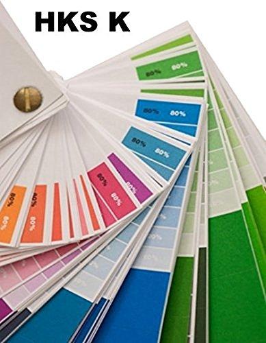 Farbfächer HKS K (Kunstdruckpapier)