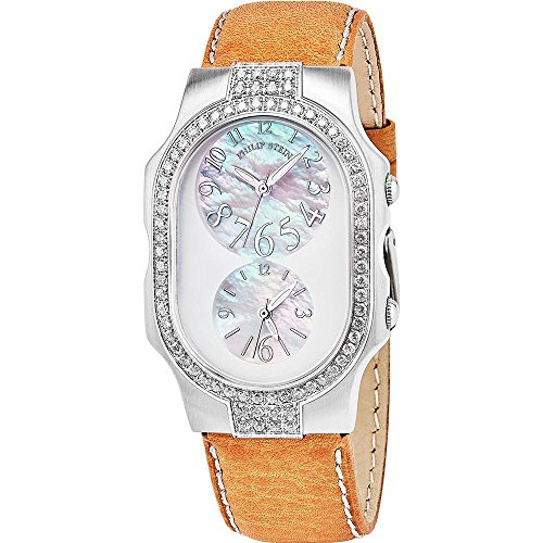 Philip Stein Women's Signature Diamond Swiss Quartz Watch 2DD-FFSMOP-SBGR