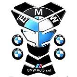 Tankpad Motorad Draht Muster Tankschutz ' BMW schwarz mod york 15x20 '' Polymer 3D