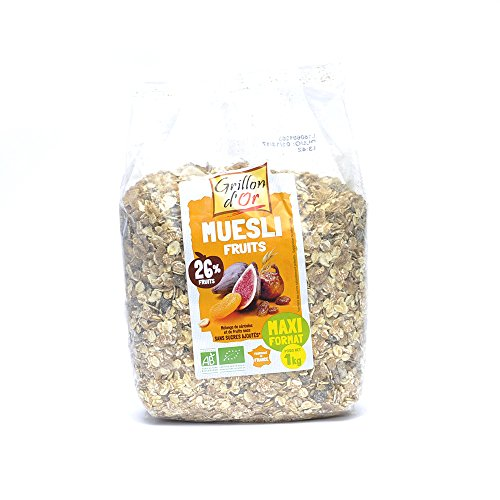 Grillon d'Or - Muesli Fruits Maxi format 1Kg