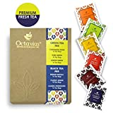 Best Iced Tea Bags - Octavius 6 Assorted Black and Green Tea, Enveloped Review