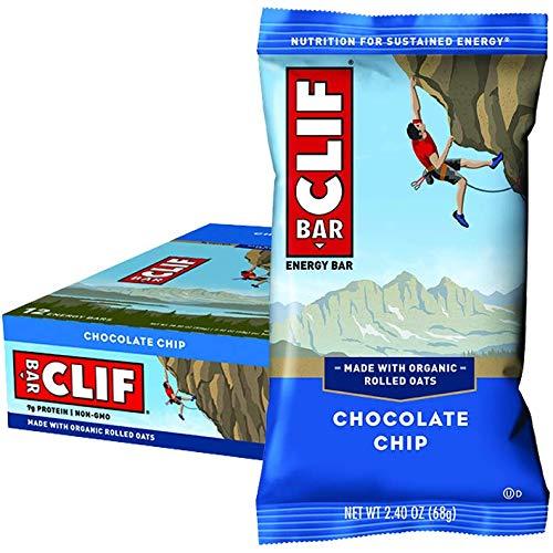 Clif Bar Chocolate Chip Crunch (Box of 12) -