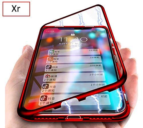 coque magnétique iphone xr rouge