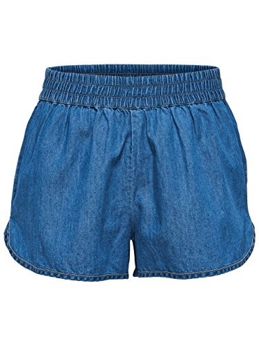 Only Damen Short JDYMOVE - Blau - Medium Blue Denim, Größe:XS;Farbe:Medium Blue Denim