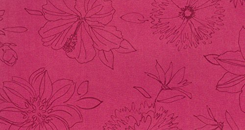 d-c-fix Wachstuch Wachstischdecke Tischdecke Gartentischdecke Blumen Palmas Pink Breite & Länge...