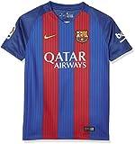 Nike FCB YTH SS HM STADIUM JSY - Kurzärmeln T-Shirt FC Barcelona Blau - M - Jungen