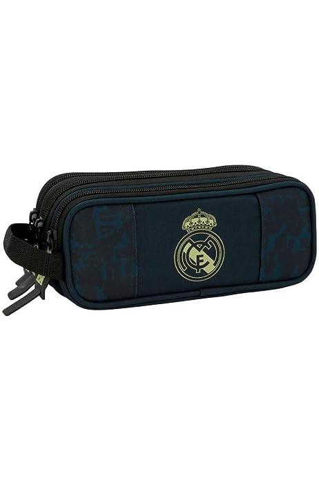 Safta 811457635 - Portatodo Triple Real Madrid C.F.: Amazon.es: Equipaje