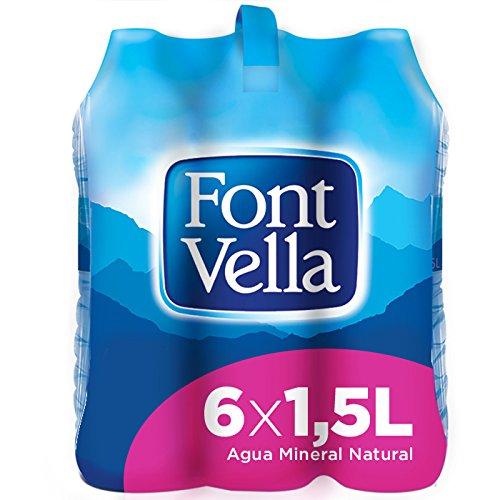 Font Vella Agua Mineral Natural - Pack 6 x 1,5 l
