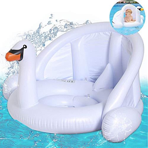 mciskin Cisne Blanco bebé Flotador de Seguridad bebé niños Hinchable natación Agua...