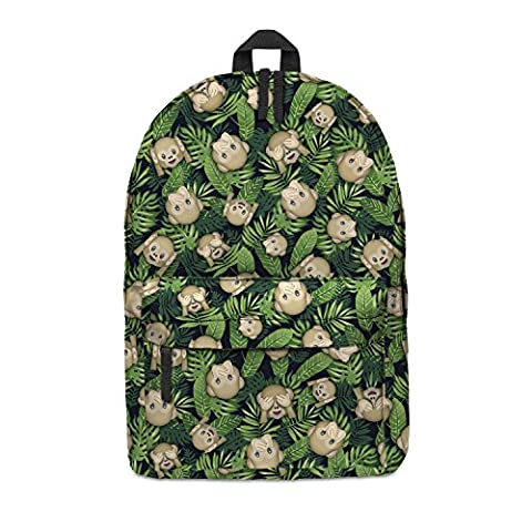 FRINGOO Unisex Boys Girls Backpack School Rucksack Fully Printed Cabin