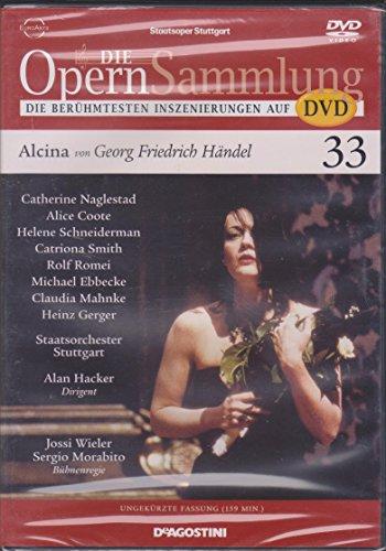 Die Opernsammlung - Die berühmtesten Inszenierungen auf DVD - Nr. 33 - Alcina von Georg Friedrich Händel - ungekürzte Fassung 1