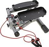 SportPlus Profi-Stepper mit Zugbändern und Trainingscomputer - 5
