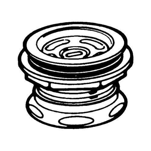 Moen Drain Assembly (Moen 22201 2-Inch Sealtite Drain Assembly, Stainless Steel by Moen)