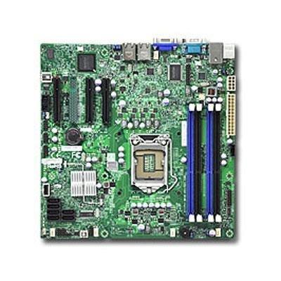 Supermicro MBD-X9SCL+-F-O Sockel 1155 Mainboard (PCI-e, Micro ATX, Intel Xeon, DDR3 Speicher, SATA, USB 2.0) -