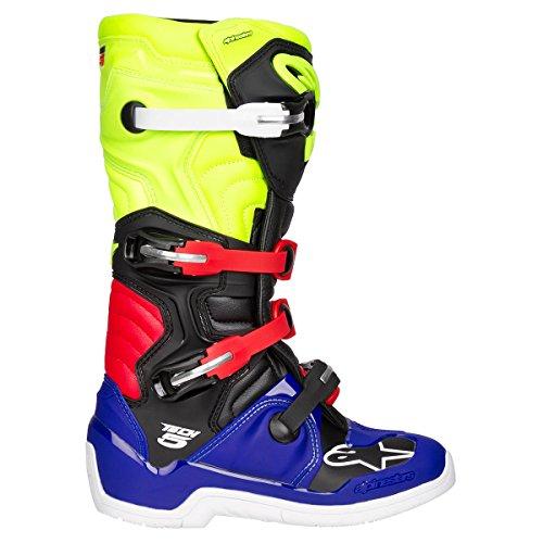 Alpinestars Motocross-Stiefel Tech 5 Blau Gr. 43 - 4