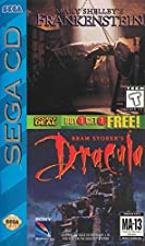 Mary Shelley's Frankenstein / Bram Stoker's Dracula Sega CD Version Genesis US Version Double Deal Mega CD