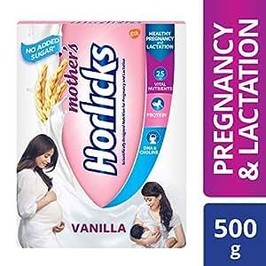 Mother's Horlicks Health & Nutrition drink (Vanilla) 500gm pack