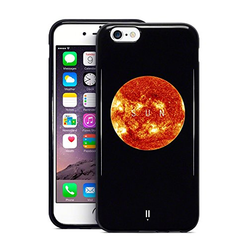Apple iPhone 6S Plus/6 PLUS Planet Collection – Schwarz Sun