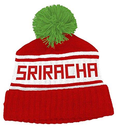 Preisvergleich Produktbild Sriracha Hot Sauce Knit Pom Beanie Hat
