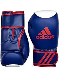 adidas Kickboxing Guantes kspeed 200, todo el año, unisex, color azul, tamaño 12oz
