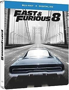 Fast & Furious 8  [Combo Blu-ray + Copie digitale - Édition boîtier SteelBook]