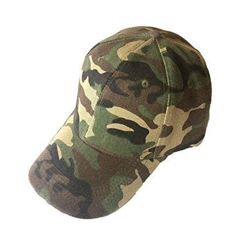 uflage Baseballmütze Mann Frauen Armee Camo Hut Outdoor Sonnenschutz Jagd Schirmmütze (Camo Armee Hut Für Erwachsene)