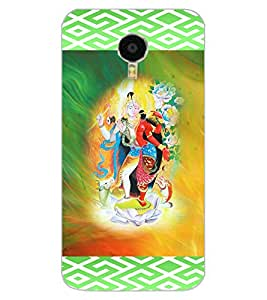 ColourCraft Ardhnarishwar Design Back Case Cover for MEIZU BLUE CHARM NOTE 3