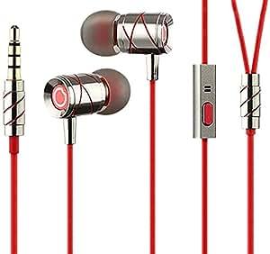 GGMM Ej201 HummingBird Metallic Earphone (Red)