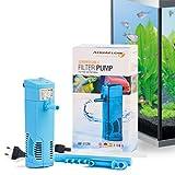 Aquaflow Technology® AIF-012M - Acuario interior filtro de agua dulce o salada acuario tanques de hasta 70 litros
