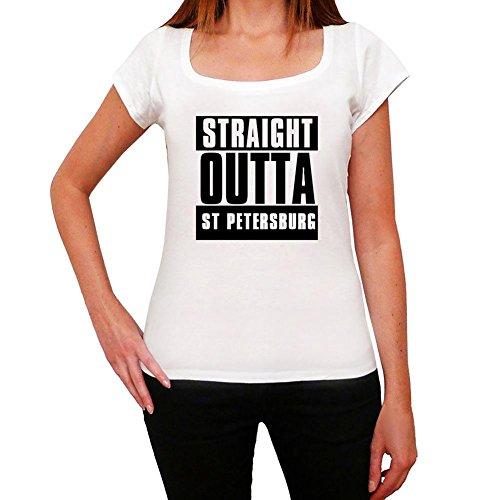 Straight Outta St Petersburg, t-shirt damen, stadt tshirt, straight outta tshirt