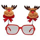 LoveLeiter MäDchen Weihnachten Brillengestell Niedlich Kinder Erwachsene Ornamente Decor Abend Party Spielzeug Weihnachtsdeko Dekoration Geschenk Dekorationen Girls Geburtstags HeißE(E,Freie Größe)