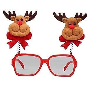 LoveLeiter MäDchen Weihnachten Brillengestell Niedlich Kinder Erwachsene Ornamente Decor Abend Party Spielzeug Weihnachtsdeko Dekoration Geschenk Dekorationen Girls Geburtstags HeißE
