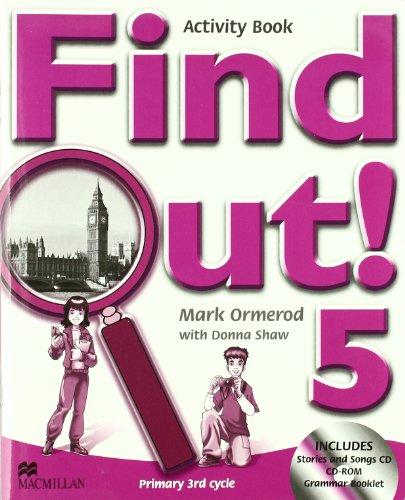 FIND OUT 5 Ab Pk (inclu gram book)