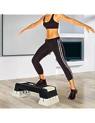 Step Fitness Tabla Stepper Aerobic Deporte Gimnasia Altura Regulable 3 Niveles
