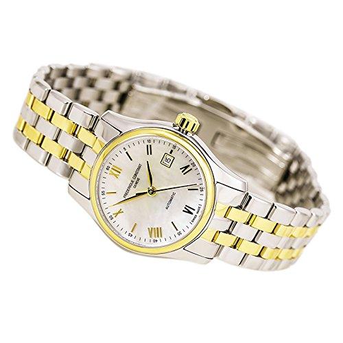 Frederique Constant fc-303mpwn1b3b–Montre pour femmes, bracelet en métal