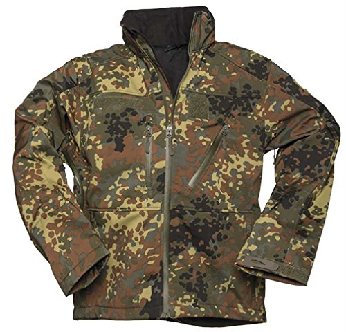 Softshell Jacke SCU 14 flecktarn Gr.XL