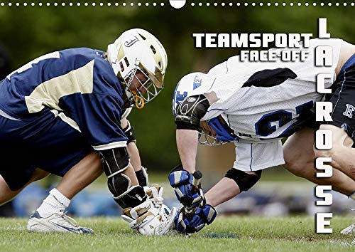 Teamsport Lacrosse - Face-off (Wandkalender 2020 DIN A3 quer): Packende Spielszenen aus der Welt des Lacrosse (Monatskalender, 14 Seiten ) (CALVENDO Sport) (La Postkarte Crosse)