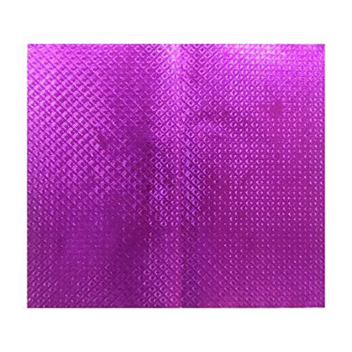 Shreeji Decoration 4 Pcs of Emboss,Pada(Marriage) Paper for Marriage Decoration,Home Decoration,Flower making, Gift wrapping, Festive decoration, Hobby craft,Art & Craft Ruled A4 Multipurpose Paper (Set of 4, Pink)
