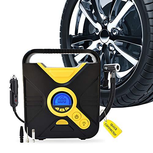 Auto-Luftpumpe Reifen Inflator Kompressor 12 DC heißer Verkauf tragbare digitale Reifenluftpumpe mit CE, RoHS und FCC genehmigt (Auto-starter-reifen-inflator)
