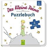 Der kleine Prinz Puzzlebuch: Mit 4 Puzzles á 12 Teilen