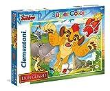 Clementoni- Lion Guard Supercolor Puzzle Maxi, 104 Pezzi, 27986