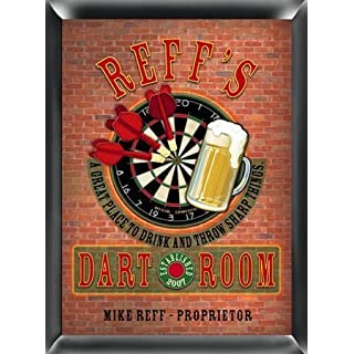Jds Traditional Personalized Pub Sign Personalized Darts