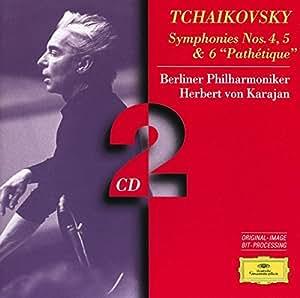 """Tchaïkovski : Symphonies N°4, 5 et 6 """"Pathétique"""" (Coffret 2 CD)"""