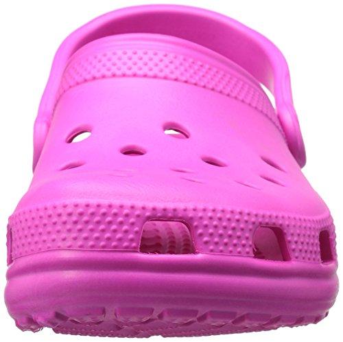 Crocs Classic, Sabots Mixte Adulte Rose (Neon Magenta)