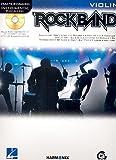 Rockband for Violin inkl. CD: 13 angesagte Rock-Hits in leichten Arrangements für Violine solo [Musiknoten]