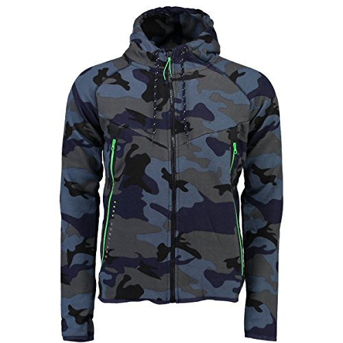 Geographical Norway Herren Hoodie GOSCOU CAMOUFLAGE MEN Neue Kollektion im Militairy Look