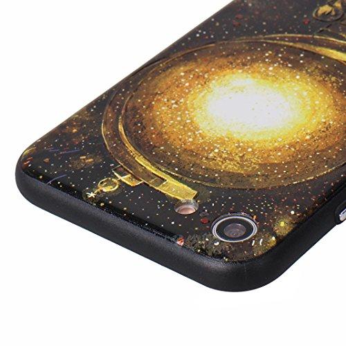 iPhone 7/8 Coque avec Construit à Support, Moon mood® Housse de Protection pour Apple iPhone 8 Coque Silicone TPU Bumper et Plastique PC Rigide Arrière Étui Cas Protecteur Supporter Kickstand Couvertu Style 3